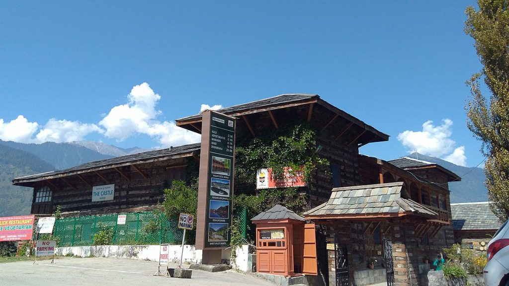 The Naggar Castle of Manali