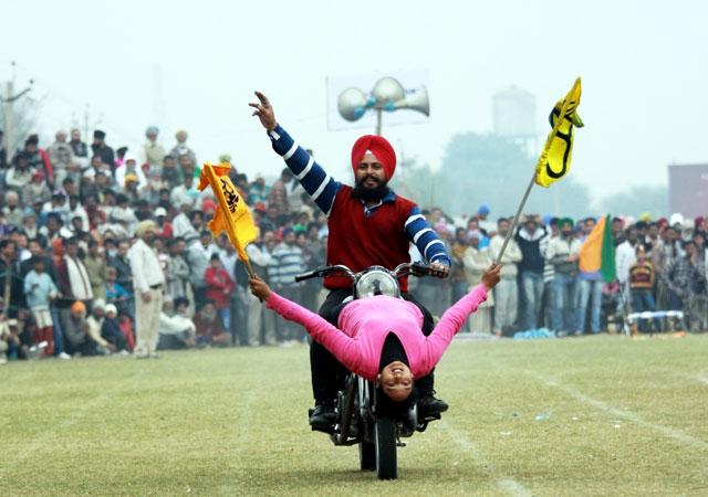 Rural Olympics at Kila Raipur ludhiana