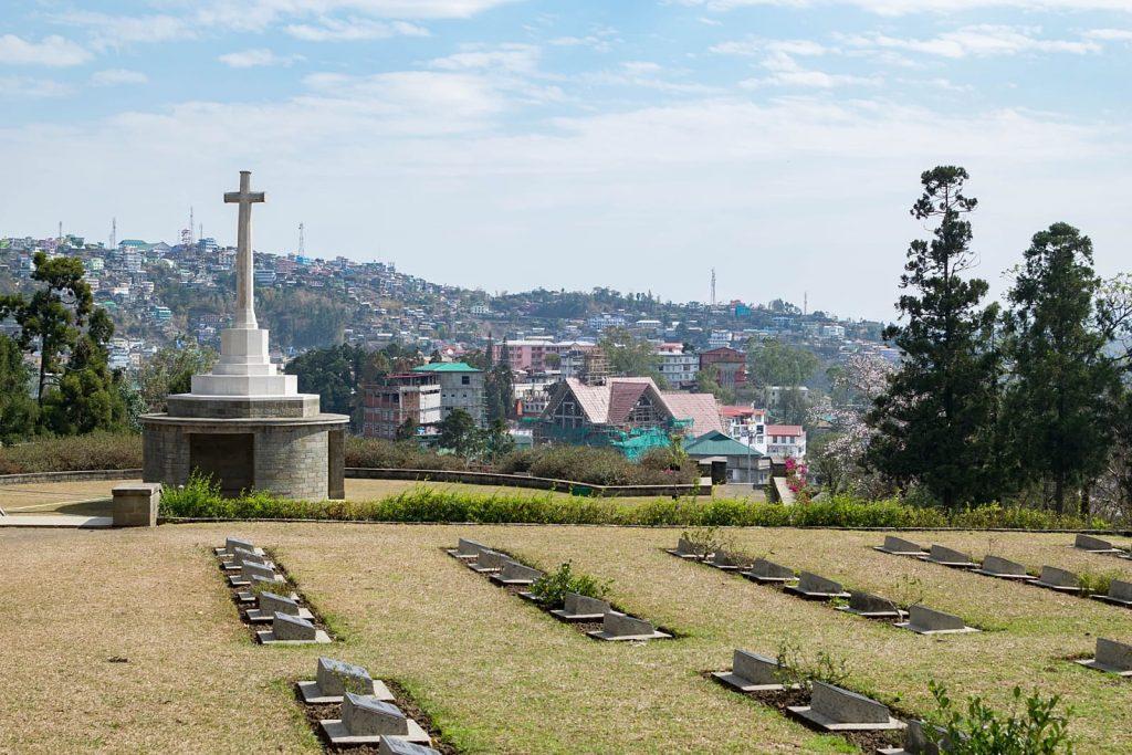 Kohima War Cemetery in Kohima